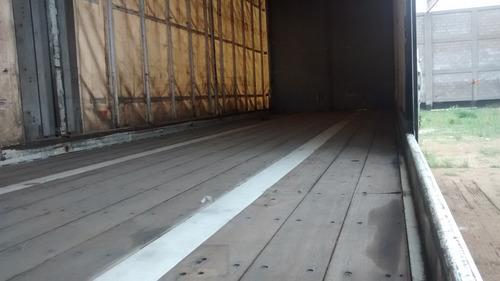remolque plana plataforma 46ft con cortinas techo y puertas