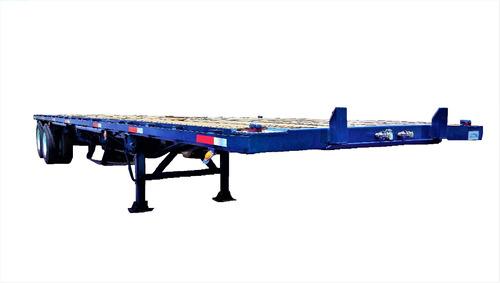 remolque plataforma 40ft 2020 enllantada 2 y 3 ejes