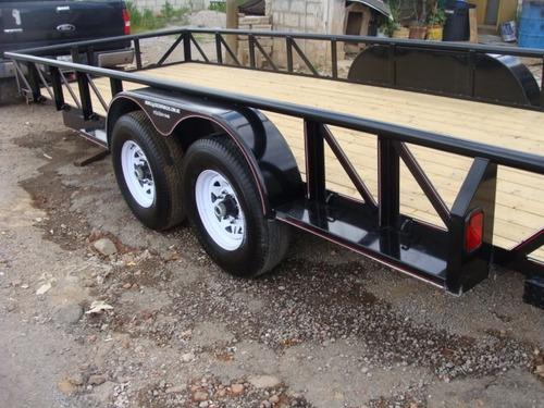 remolque plataforma 6 toneladas nuevo con serie