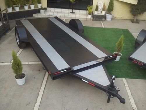 remolque plataforma cama baja