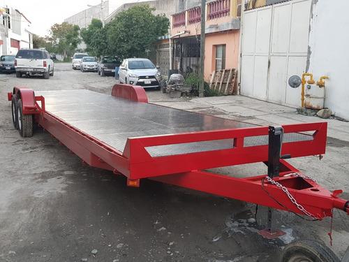 remolque plataforma camioneta camion cuatrimoto ver 19