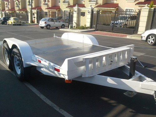 remolque plataforma montacargas bobkat minicargador mex 188