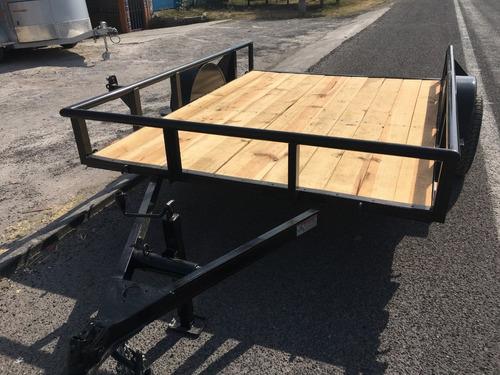 remolque plataforma para polaris, motos, cuatrimotos, ligero