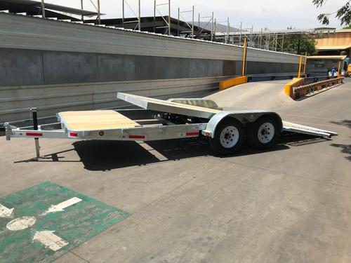 remolque plataforma plana (galvanizado)