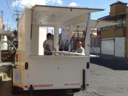 remolque punto venta, comida,alimentos, oficina,cafe,helados
