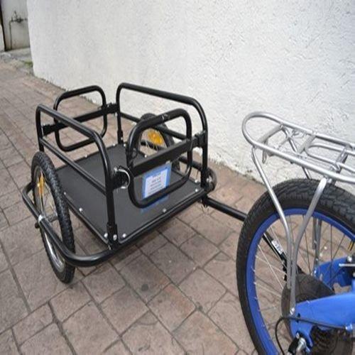 remolque r16 carga 60kgs para bicicleta 24-28  importada
