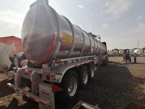 remolque tanque pipa aluminio 47,000 lts nueva en venta