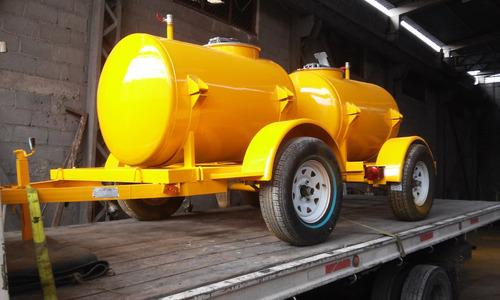 remolque tanque pipa para agua, combustibles, quimicos, etc