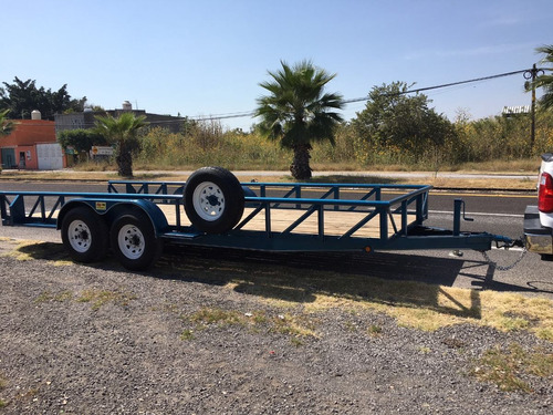 remolque tipo cama baja nuevo, 6 ton, transporte en general