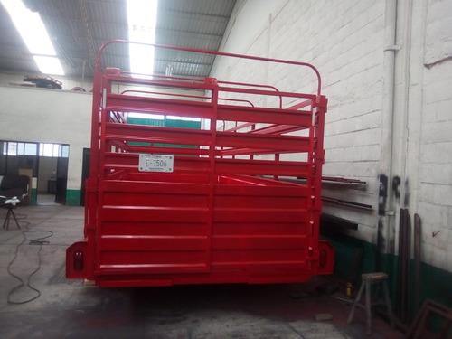 remolque traila ganadero camioneta ganado tamp20