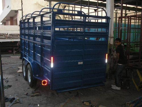 remolque traila ganadero ganadera camioneta mty 20