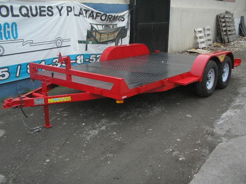 remolque traila plataforma camioneta camion qro 20