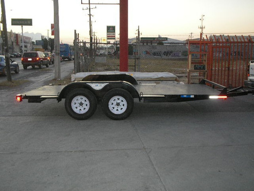 remolque traila plataforma camioneta camion tamp 20