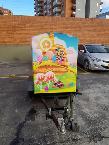 remolque- trailer- food truck