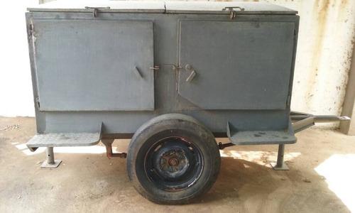 remolque trailer tipo zorra depósito