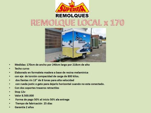 remolque trailers local comidas nuevos segunda fabricantes