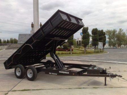 remolque volteo 3000kg maquinaria,carga gral