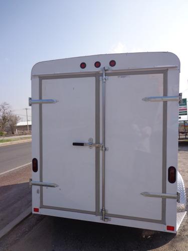 remolque,caja seca,motos,cuatrimotos,aluminio,2 ejes
