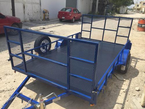 remolquecama baja plataforma rzr cuatrimotoscamioneta mty 18