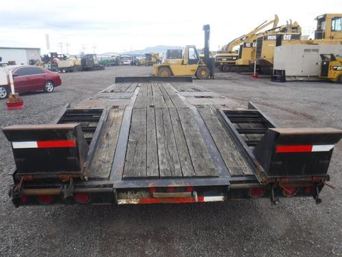 remolques cama baja trasporte corto retro plataforma f 14184