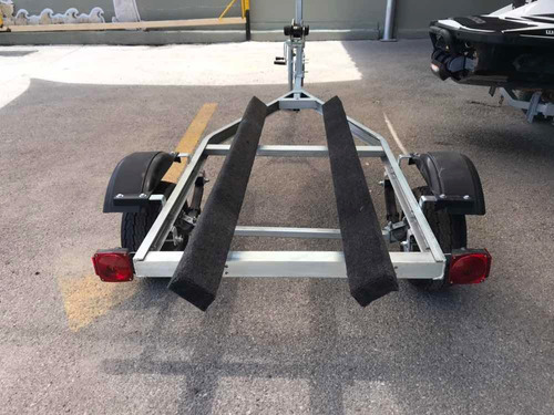 remolques galvanizados y de aluminio nuevos !!