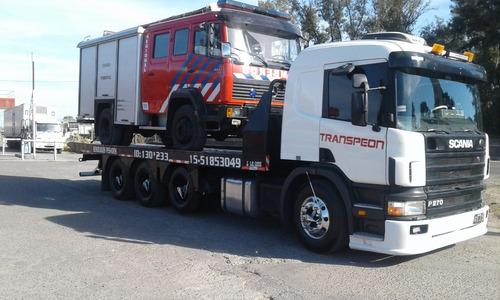remolques para camiones y maquinas las 24 hs hasta 16 ton