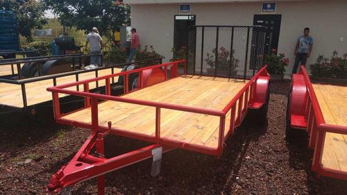 remolques plataforma para carga (4.80 metros )