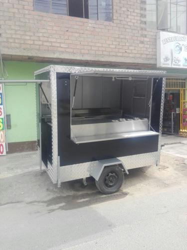 remolques sangucheros food truck para comidas