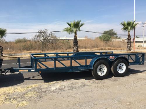 remolque,transporte de autos,maquinaria,cap de carga 6 ton