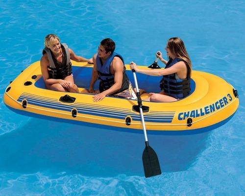 remos intex de 244cm unidos bara botes kayak balsas  ypt