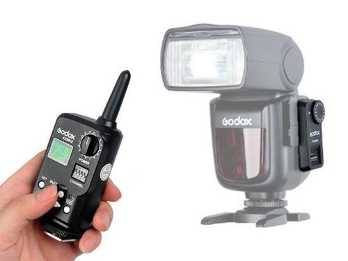remoto godox ft-16 para godox v850-v860 nikon canon