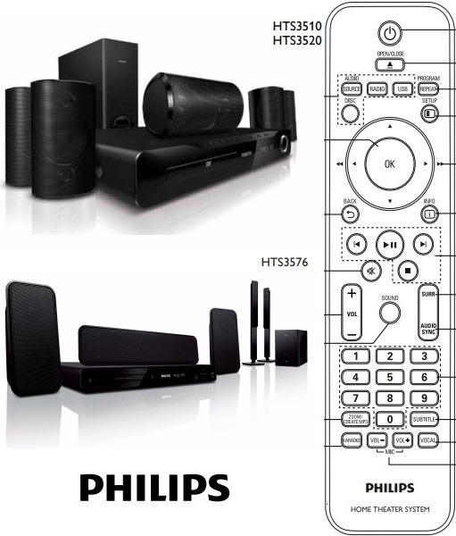 DRIVER FOR PHILIPS HTS553078 HOME THEATER