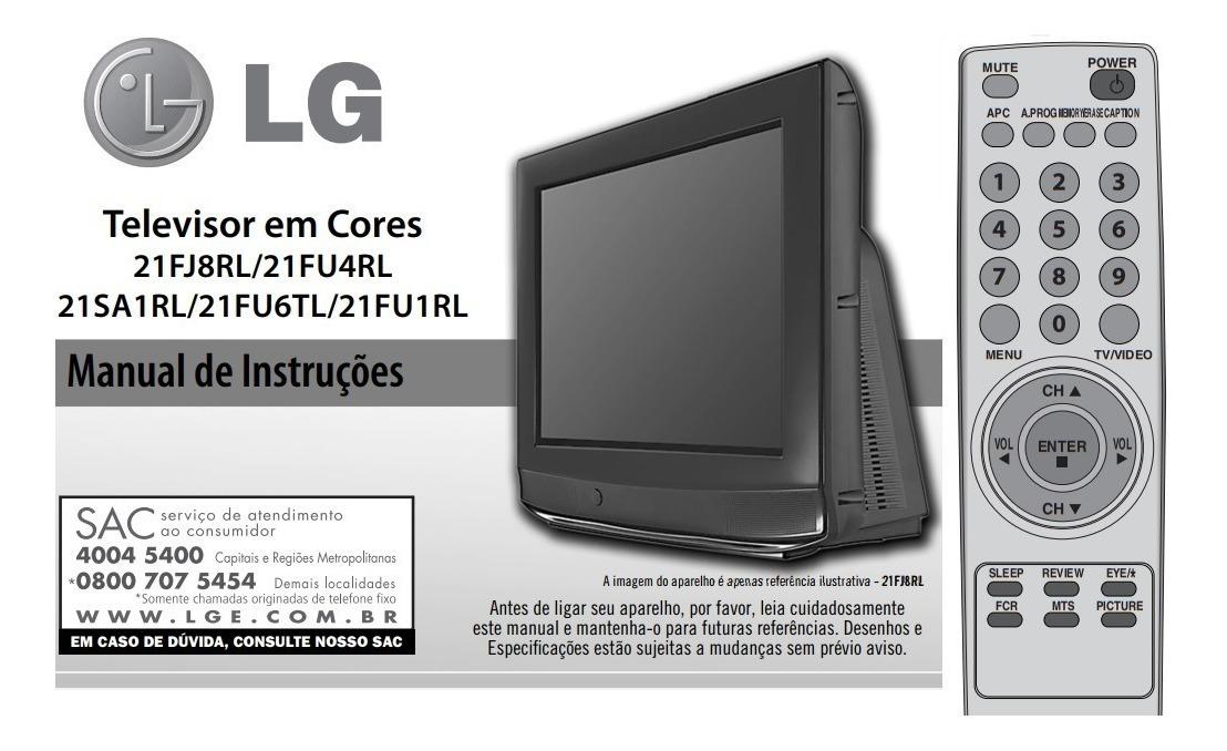 Remoto Lg 5301 Tv Crt 29fu1 29fu1rl 29fu3rl 29fu6tl