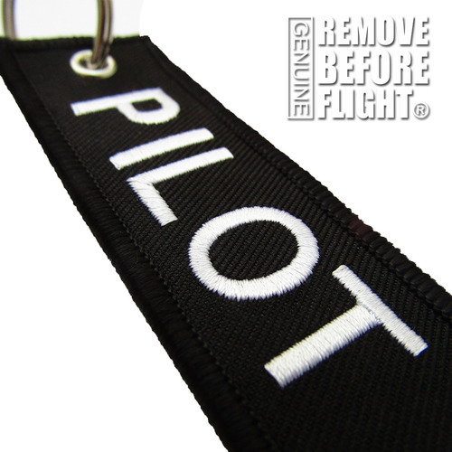 remove before flight llavero pilot 4 barras