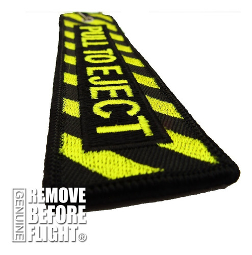 remove before flight ® mod. pull to eject