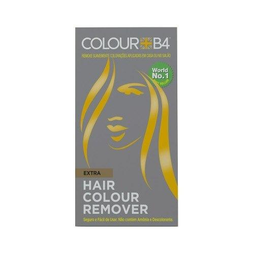 removedor de coloração sem amônia p/ cabelo escuro colourb4
