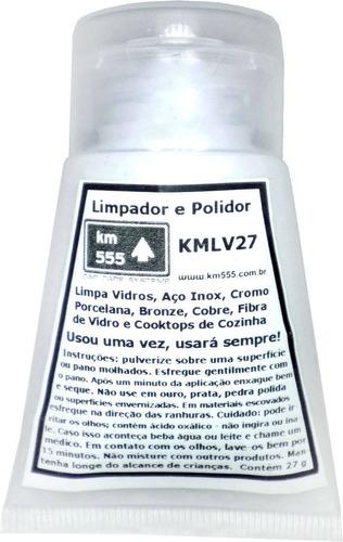 removedor de manchas de vidros e chuva ácida kmlv27
