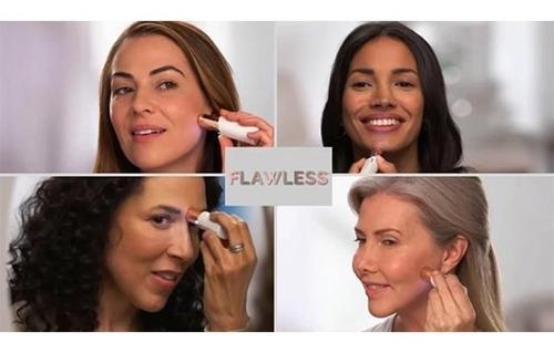 removedor depilador vello facial sin dolor femenino+batería
