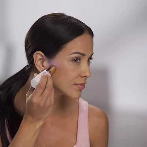removedor depiladora vello facial sin dolor femenino