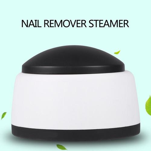 removedor electrico a vapor uv quita esmalte uñas permanents