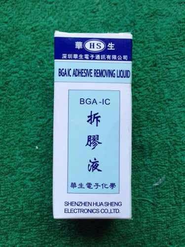 removedor epoxy bga - removedor de adhesivo bga - 30ml