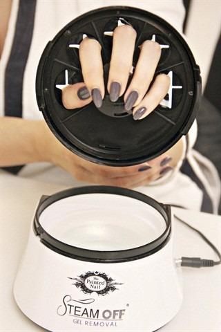 removedor esmalte gel a vapor - gel removal system (steam)