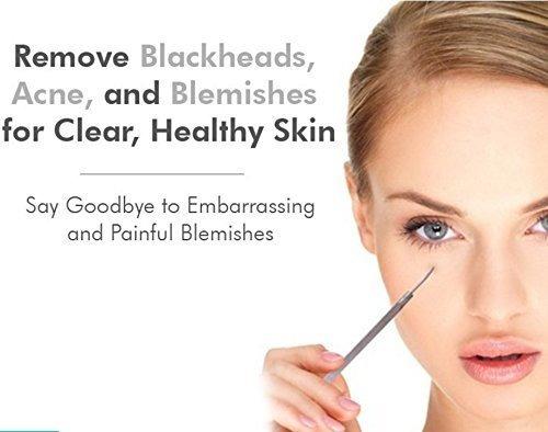 removedor extractor de espinillas acné poros aooeou kit x 9