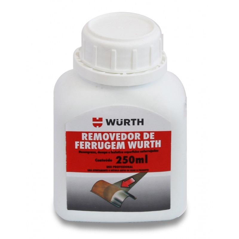 0495a83efadb8 removedor ferrugem oxidação corrosão 250ml wurth. Carregando zoom.