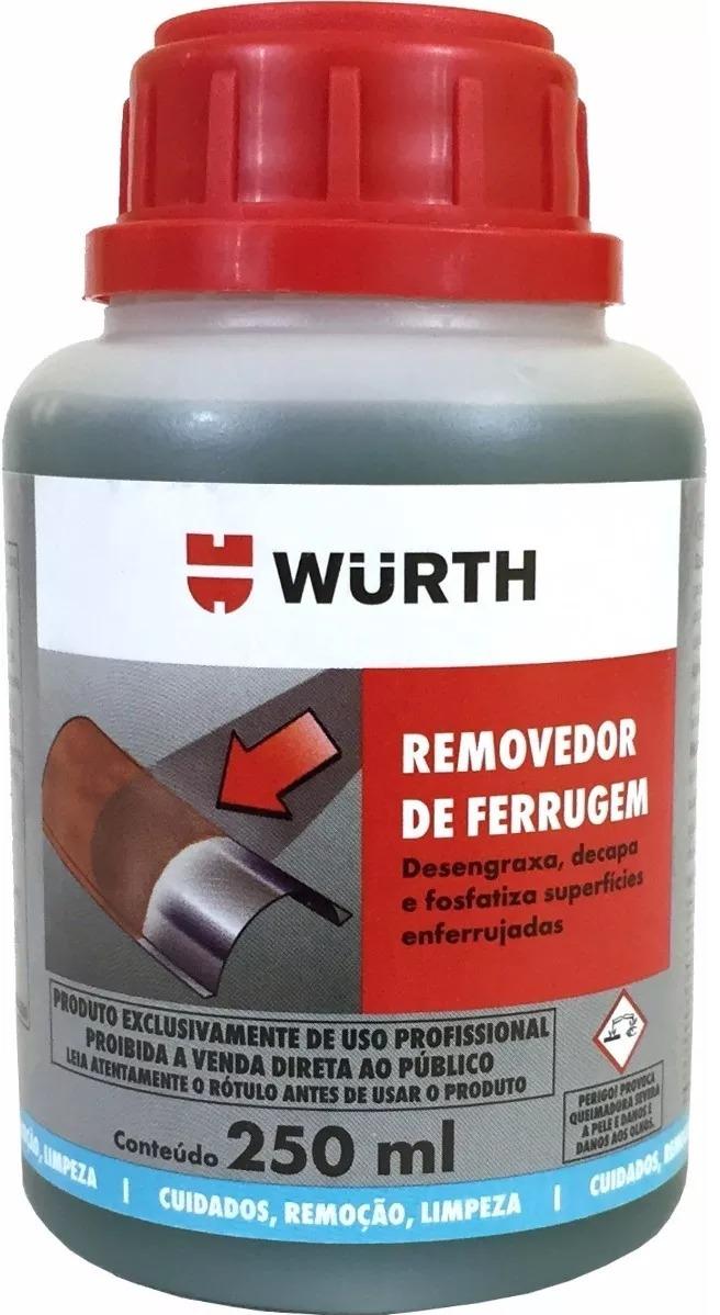 a401b5644fb2b Removedor Ferrugem Oxidação Corrosão Wurth 250ml - R  26,25 em ...