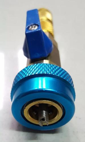 removedor valvula schrader linha baixa ar cond automotivo