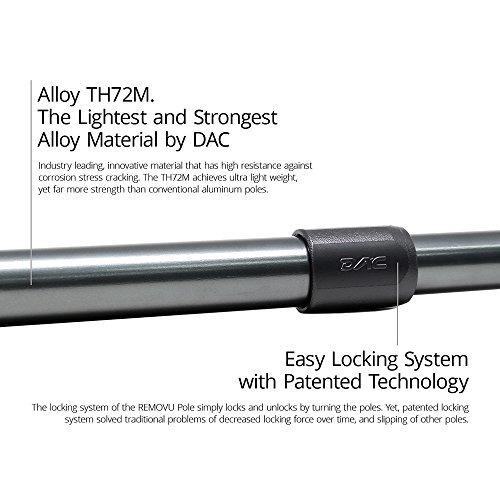 removu poste de extensión de aleación de aluminio ultra