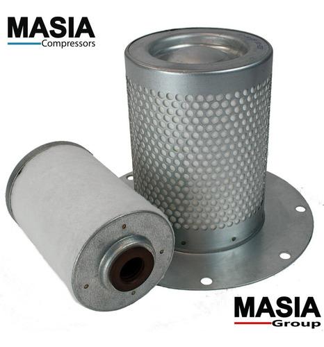 remplazo de filtro separador de aire aceite kaeser 6.1931.1