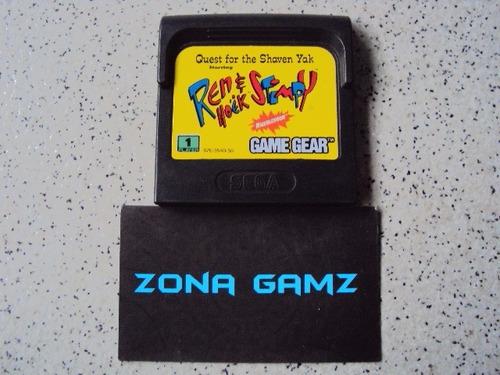 ren and stimpy sega game gear zonagamz