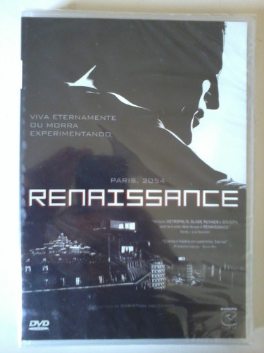 renaissance dvd (lacrado) daniel craig
